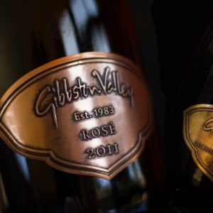 gibbson valley luxury pewter label